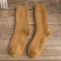 时尚羊毛袜子女加厚中筒女袜冬季保暖袜韩版日系堆堆袜女士长袜子