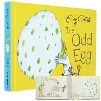 预售 【中商原版】奇怪的蛋 英文原版 The Odd Egg 纸板书 我的宝贝蛋 获奖名家绘本 3-6岁