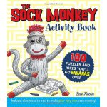 The Sock Monkey Activity Book: 100 puzzles and jokes you'll