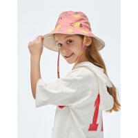 【到手价:109】蕉下渔夫帽防晒帽亲子儿童遮阳帽夏出街沙滩男女防紫外线多色可选