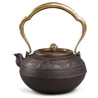 20191217103125799日本南部生铁壶茶具烧水煮茶老铁壶铸铁茶壶电陶炉日本南部壶手工礼品茶具铸铁壶无涂层 铁茶