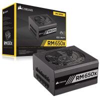 美商海盗船(USCorsair)额定650W RM650x 全模组电脑电源(80PLUS金牌/低噪音 /十年质保/全日
