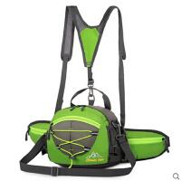 时尚户外多功能双水壶腰包 跑步运动背包 单肩双肩斜跨登山腰包