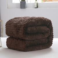 君别商场被子冬天单人法兰绒加绒床垫毛毯床单冬季铺床毯子垫床加厚保暖防滑被单珊瑚绒 咖啡色 精英咖