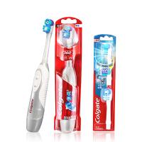 高露洁(Colgate) 360光感白电动牙刷套装 (光感白电动牙刷+刷头×2)