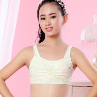 少女文胸发育期纯棉小背心式文胸薄款小女生中学生内衣女孩无钢圈