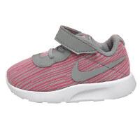 【4折价:131.6元】耐克儿童鞋运动鞋女童舒适透气休闲鞋859620-601 粉红纹