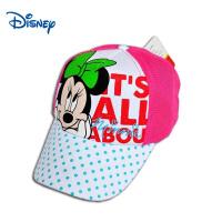 迪士尼儿童可爱帽子春夏太阳帽女童网眼帽米妮卡通遮阳帽SM60179