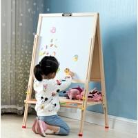 儿童画板双面磁性写字可升降家用小黑板支架式3岁宝宝涂鸦板