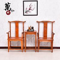 明清古典家具全实木办公沙发组合中式仿古榆木小户型客厅木质沙发 组合