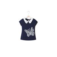 【��^59元3件】加菲�女童印花T恤短袖套�^�和�基�A款GTW17210