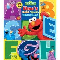 英文原版 芝麻街:单词翻翻书 英语/西班牙语 Elmo's Word Book (Sesame Street)
