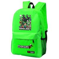 我的世界Minecraft苦力怕书包游戏周边双肩背包男女学生夜光