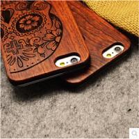 iphone6实木手机壳 苹果5S木质雕刻保护壳 6plus原木贴PC新款外壳