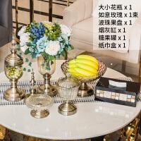 欧式花瓶摆件客厅餐桌电视柜美式家居软装饰品创意现代摆设