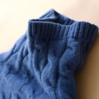 年终清仓加厚高领纯山羊绒衫女套头宽松短款毛衣秋冬针织打底毛衫