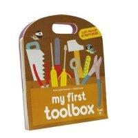 【现货】英文原版 我的工具箱 My First Toolbox(Play Learn Do)翻翻书 2-4岁 互动机关书