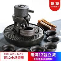 陶瓷茶杯 家用汝窑功夫茶具茶杯陶瓷干泡茶盘托套装日式简约小茶台茶海