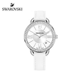 SWAROVSKI/施华洛世奇 水晶质感女腕表 白色表带 5095938