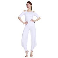 [当当自营]皮尔瑜伽(pieryoga)2018新款瑜伽服套装女 跑步运动健身服修身显瘦两件套 81328白色中长袖+