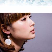 韩版时尚 饰品听海 贝壳大耳圈耳环 夸张耳饰 波西米亚