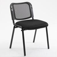 会议椅子带写字板靠背椅子折叠学校课桌椅一体办公椅学生职员