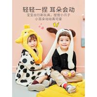 【3件85折:62.05】kk树儿童帽子秋冬季韩版男童女童宝宝护耳可爱保暖婴幼儿婴儿围脖一体