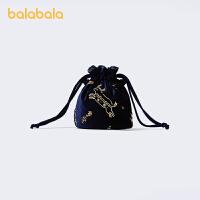 【五一出游季 2件6折:47.9】巴拉巴拉女童包包新年季小女孩儿童斜挎包小童中国风时尚复古福袋