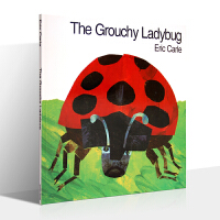 英文原版绘本 不高兴的瓢虫 跟随着瓢虫的旅行 The Grouchy Ladybug Eric Carle 艾瑞・卡尔经典作品
