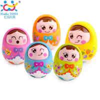 汇乐979点头不倒翁娃娃可爱幼儿宝宝益智玩具0-1岁 大号不倒翁