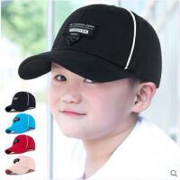 儿童帽子夏天太阳帽棒球帽男童女童鸭舌帽防晒遮阳帽男女孩