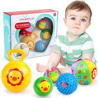 婴儿玩具0-1岁宝宝手抓球新生儿小皮球幼儿手摇铃宝宝3-6-12个月