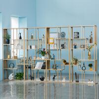 隔断置物架简约现代客厅书架柜落地展示储物柜