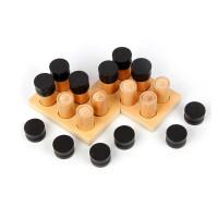 早教玩具蒙特梭利感官教育3岁以上嗅觉筒宝宝玩具