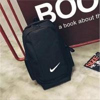 大容量新款双肩包校园学生纯色书包韩版户外旅行包男女运动背包潮