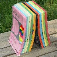 彩色复印纸 a4 复印纸 A4纸 彩色 彩色卡纸 手工彩纸 100张 100g