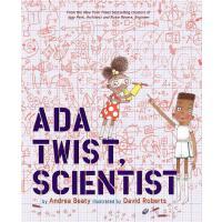 【新到现货】Ada Twist, Scientist 英文原版 艾达想当科学家 精装绘本故事
