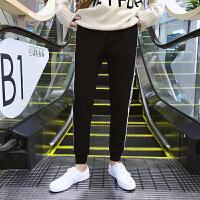 男士九分裤男潮青少年修身束脚裤韩版休闲裤青年运动裤子哈伦长裤YC-505