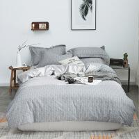 家纺棉四件套纯棉床笠床单人三件套被套被子床品床上用品
