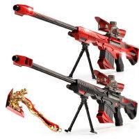 润丰源电动水弹枪 金狮狙击枪 暴风连发玩具枪 可发射水晶弹 2016A