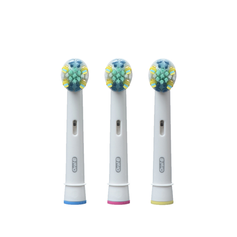 博朗Oral-B 欧乐B 原装进口 电动牙刷头配件 EB25-3 正品 微波脉冲刷毛 深度清洁 德国进口 三枚装