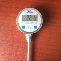 双金属温度表411数显温度计工业水温反应釜用电子测温仪器