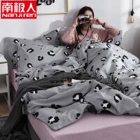 棉纯棉四件套床单被套床上用品1.5m1.8床单双人被罩4件套
