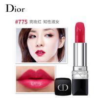 Dior/迪奥 烈艳蓝金唇膏口红 775 亮玫红