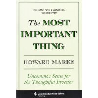 The Most Important Thing: Uncommon Sense for the Thoughtful Investor (Columbia Business School Publishing) [ISBN: 978-0231153683]