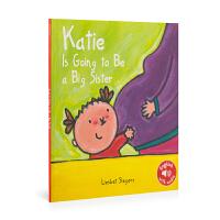 英文原版 Katie And Mama'S Belly 凯蒂和妈妈的肚子 低幼绘本 0-6岁 儿童图画书 亲子阅读
