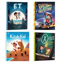 【中商原版】当代电影绘本系列套装4册The X-Files X档案 Home Alone小鬼当家 回到未来