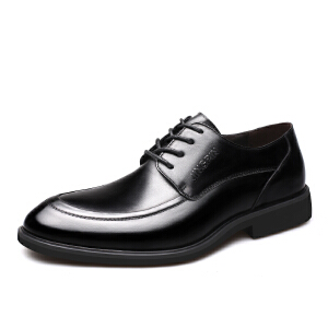 宜驰 EGCHI 正装皮鞋男士休闲耐磨商务休闲皮鞋子男鞋 3142