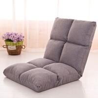 懒人沙发单人休闲折叠可拆洗榻榻米宿舍神器卧室阳台飘窗躺椅