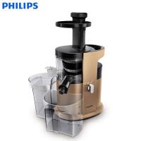 飞利浦(PHILIPS)原汁机 家用电动低速型慢汁机榨汁机可做果汁冰激凌 HR1883/70